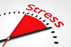clock-red-seconds-hand-area-stress-illustration-d-50345740